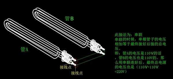 串联接线图